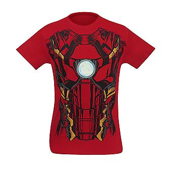 Iron Man Suit-Up Men's Costume T-Shirt