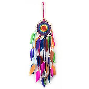 Multi farget Dream catcher 45cm