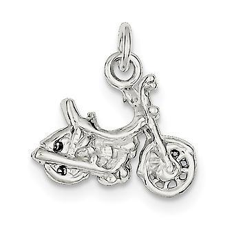 925 sterling sølv solid polert motorsykkel sjarm anheng halskjede smykker gaver til kvinner