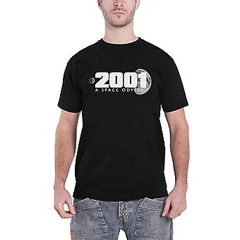 2001 A Space Odyssey T Shirt Movie Logo Kubrick new Official Mens Black
