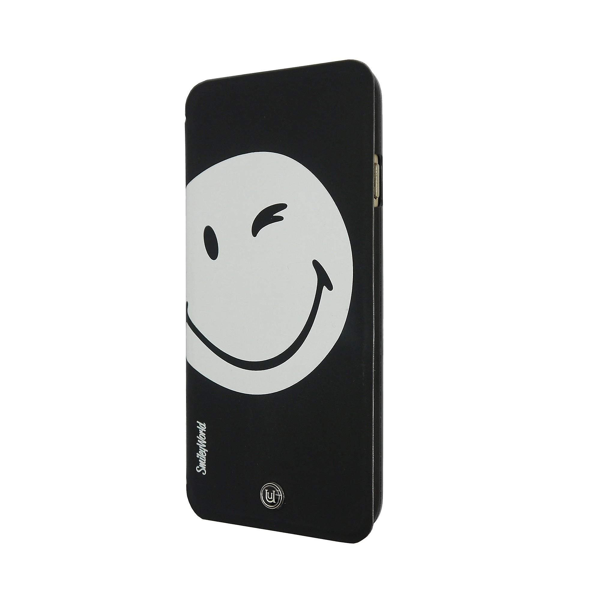 iPhone 6 Magnetic 2 in 1 Folio & Hard Shell Black/White