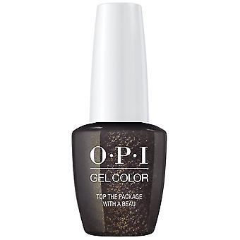 OPI GelColor Mini Love OPI XOXO 2017 Soak Off Gel Polish - Top The Package With A Beau 7.5ml (HP J11B)