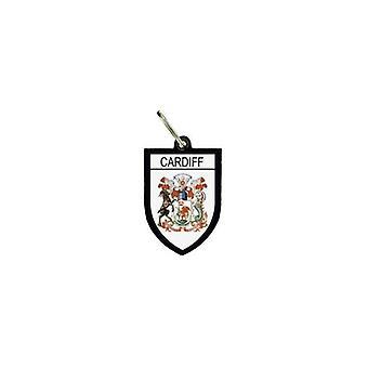 Puerta Cles Keys Cle Flag Colección City Blason Cardiff R2 Inglés
