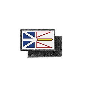 التصحيح ecusson يطبع كندا شارة العلم أرض لابرادور جديدة