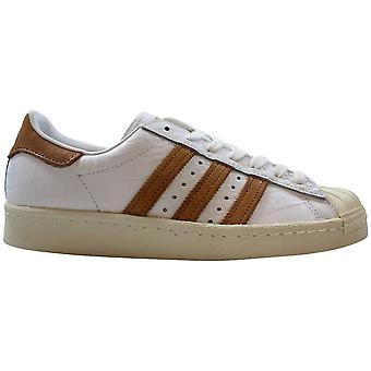 Adidas Superstar 80s Footwear White/Gold Metallic BB2229 Men's