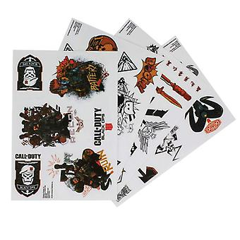 Call of Duty Black Ops 4 Gadget Decals 90PCS Stickers Reusable