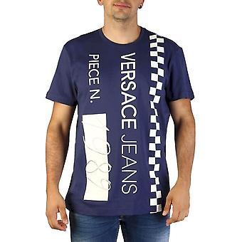 Versace Jeans - Bekleidung - T-Shirts - B3GTB74B_36590_221 - Herren - navy - L