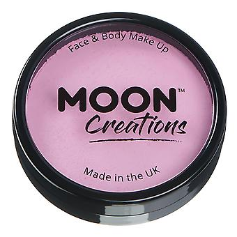 Moon Creations - Pro Face & Body Paint Cake Pots - Light Pink