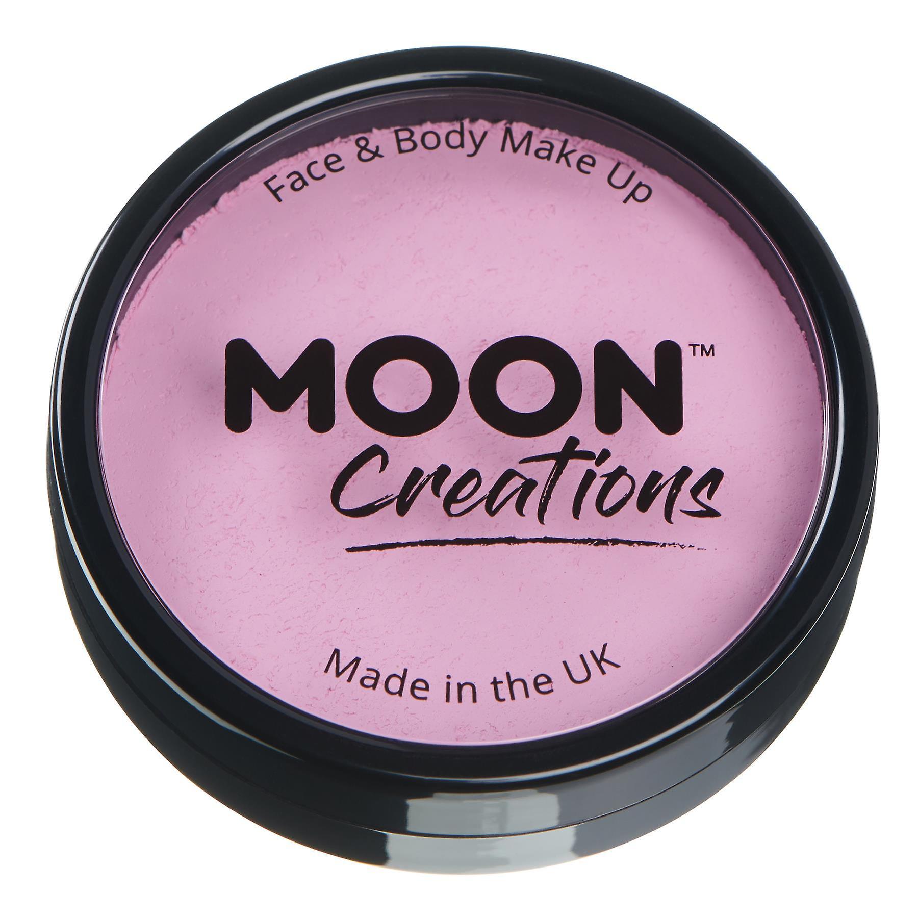 Moon Creations - Pro Face & Body Paint Cake Pots - Light Pink