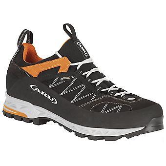 Aku Black/orange Mens Tengu Low GTX Walking Shoes