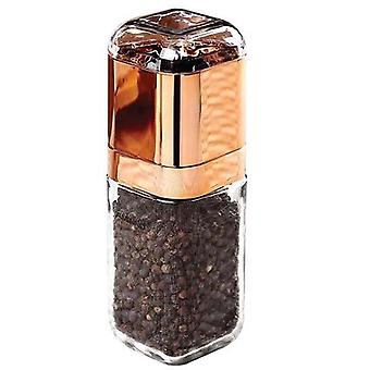 Projekt Glass Salt Pepper Grinder Rose Gold