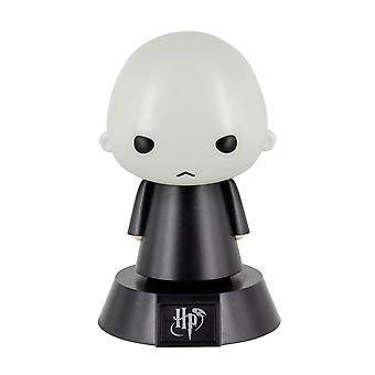Harry Potter Mini Lamp Icon Light Voldemort black/grey, printed, plastic, in gift wrapping.