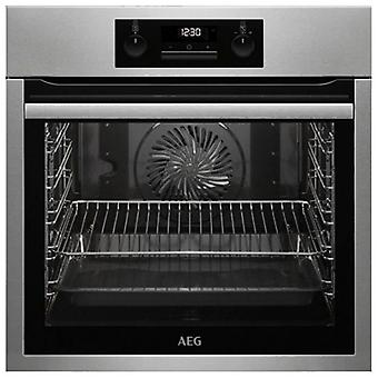 Pyrolytic Oven Aeg BPS331120M 74 L LCD 3000W Stainless steel Black