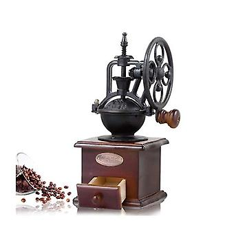 Manuel Coffee Grinder Vintage Retro Wood Main