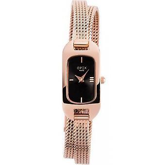Opex OPW006 Watch - BALLERINE Steel Bracelet Brown Bo tier Steel Dor Pink Women