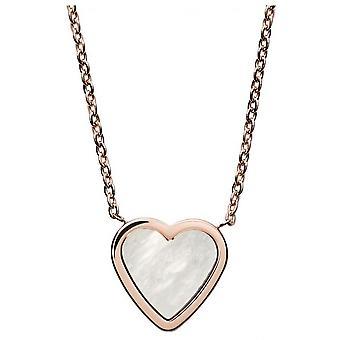 Skagen SKJ1253791 halsband och hänge-KATRINE stål Dor Rose kvinnor