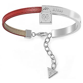 Gissa smycken UBS28004 armband - armband röd & stål rhodi kvinna