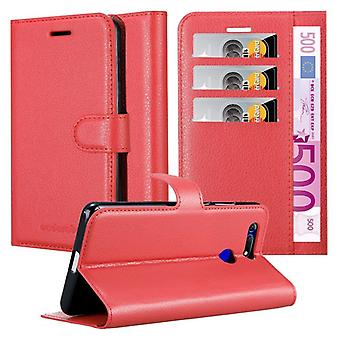 Cadorabo Case for Honor View 20 Case Cover - Phone Case with Magnetic Closure, Stand Function and Card Case Compartment - Case Cover Case Case Case Case Case Book Folding Style