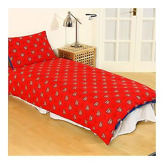 Arsenal FC Pulse Reversible Duvet And Pillow Case Set