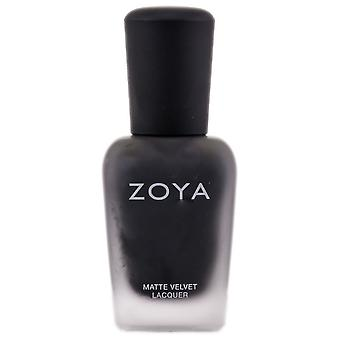 Zoya Natural Nail Polish - Black, White, Silvers (Color : Dovima / Mat - Zp499)