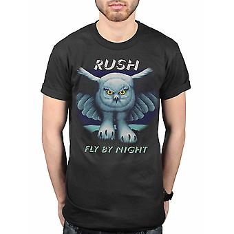 Rush Fly By Night Geddy Lee Alex Lifeson T-Shirt officiel