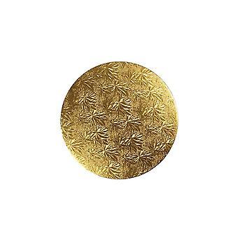 "Culpitt 11"" (279mm) Tavola torta Rotondo Gold Fern - Singolo"
