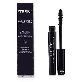 By Terry Lash Expert Twist Brush Double Effect Mascara - # 1 Master Black - 8.3g/0.28oz