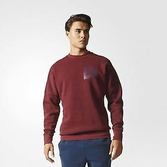 Adidas Erkek Kimliği Kar Yıkanmış Mürettebat Yaka Sweatshirt S98763