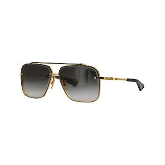 Dita Mach-Six DTS121 01 Yellow Gold-Black Ruthenium/Dark Grey Gradient Sunglasses