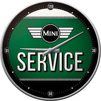Coche oficial de Mini clásico reloj de pared grande en caja de regalo - estilo de speedo