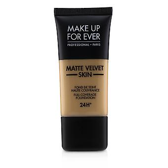 Matt Velvet Skin Full Dekning Foundation - # Y375 (Golden Sand) 30ml / 1oz