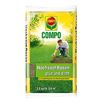 COMPO reseed lawn green and dense, 2.5 kg
