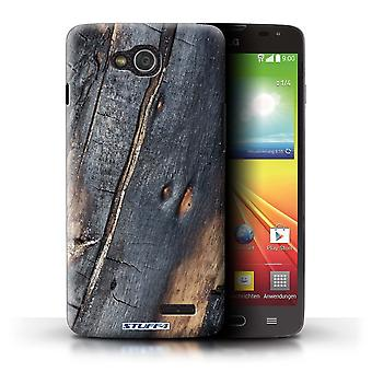 STUFF4 Case/Cover for LG L90 Dual/D410/Burnt Wood/Tree Bark