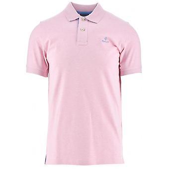 GANT GANT Hellrosa Melange Polo Shirt