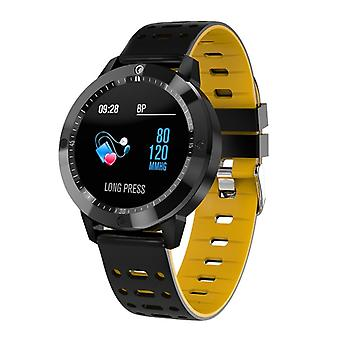 CF58 resistente à água smartwatch-amarelo