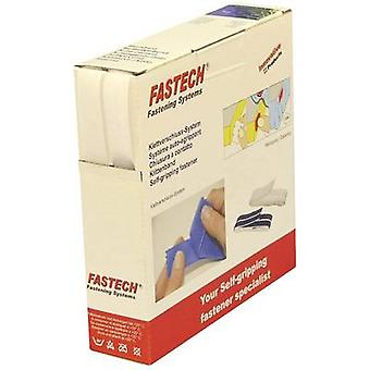 FASTECH® B16-STD000010 Hook-and-loop tape sew-on Hook and loop pad (L x W) 10 m x 16 mm White 10 m