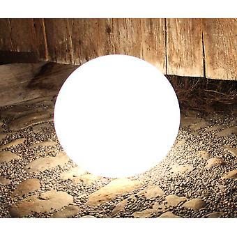 Lampa kulowa Kula Ogrodowa kula GlowOrb biały 38cm en E27 10475