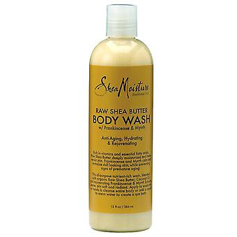 Shea moisture raw shea butter body wash, 13 oz