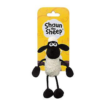 Shaun the Sheep Plush 61176 Backpack Clip Black and White