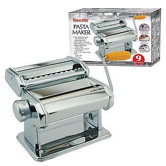 Sentik 3 In 1 Stainless Steel Pasta Lasagne Spaghetti Tagliatelle Maker Machine Cutter