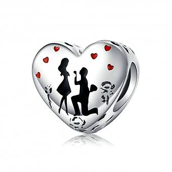 Sterling Silver Charm Marriage - 6387