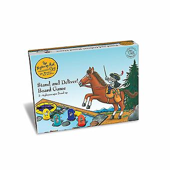 Paul Lamond Games - The Highway Rat - Stand And Deliver - Board Game