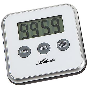 Atlanta 239/0 Short TimePiece Atlanta Digital White com Magnet Kitchen Timer