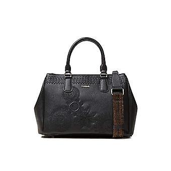 Desigual Bag Dark Amber Cabo vrouwen-zwarte vrouwen pols tassen (Negro) 15.3 x 23,3 x 33,8 cm (B x H T)