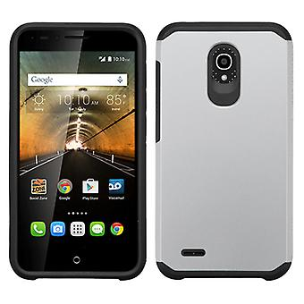 ASMYNA Astronoot Phone Case for Alcatel OneTouch Conquest - Silver/Black