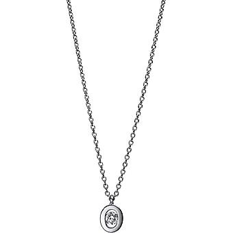 Diamond Collier Collier - 18K 750/- White Gold - 0.07 ct. - 4D989W8-1