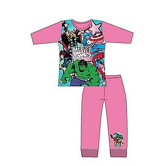 Marvel Comics Girls Pyjama Set