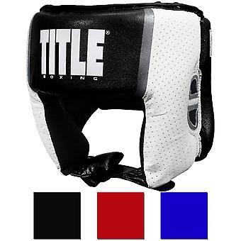 Titel Boxen Aerovent Elite Open Face Amateur Wettbewerb Kopfbedeckungen