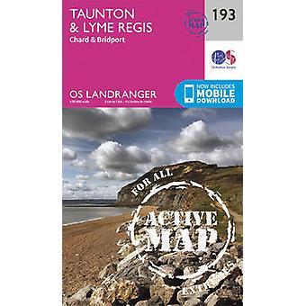 Taunton & Lyme Regis - Chard & Bridport (February 2016 ed) by Ordnanc