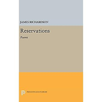 Reservations - Poems by James Richardson - 9780691643861 Book